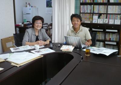 明石洋子さん と りょうま父.jpg